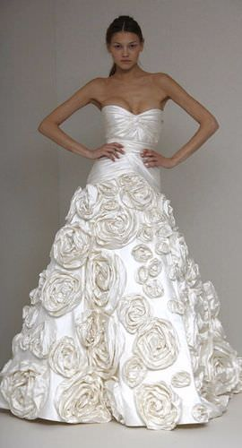 Весільні сукні 2011 від монік люльє