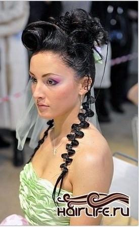 Авангардні весільні зачіски 25 фото